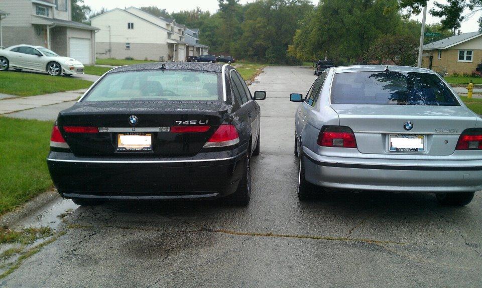 Added BMW 745 To E39 528I