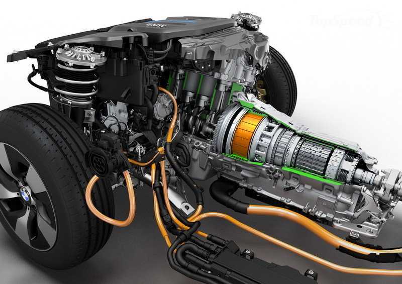 BMW 330e eDrive powertrain