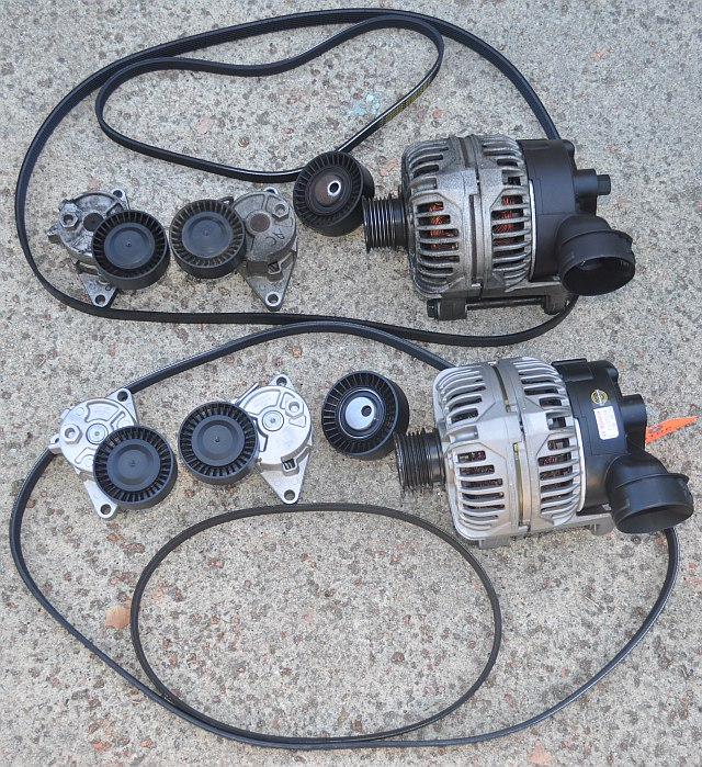 e39 alternator bearing replacement