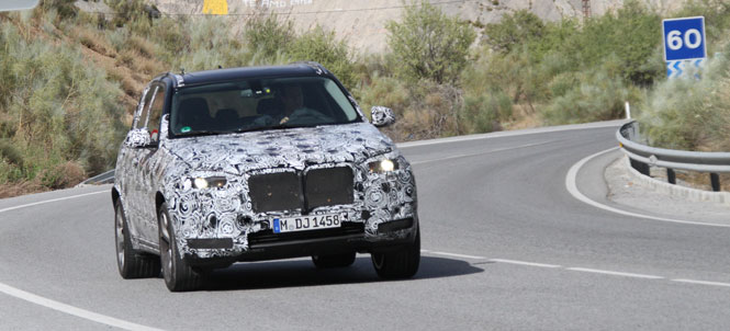 Next Generation 2014 BMW X5 Spied Testing