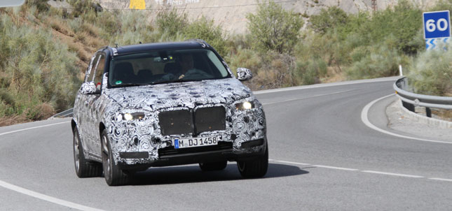 2014 next generation BMW X5 spy pictures