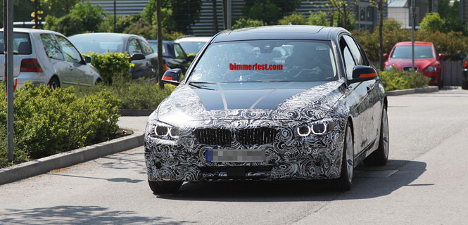 Spied - F30 Next Gen 3 Series in the FINAL sheet metal - Most revealing pic YET!
