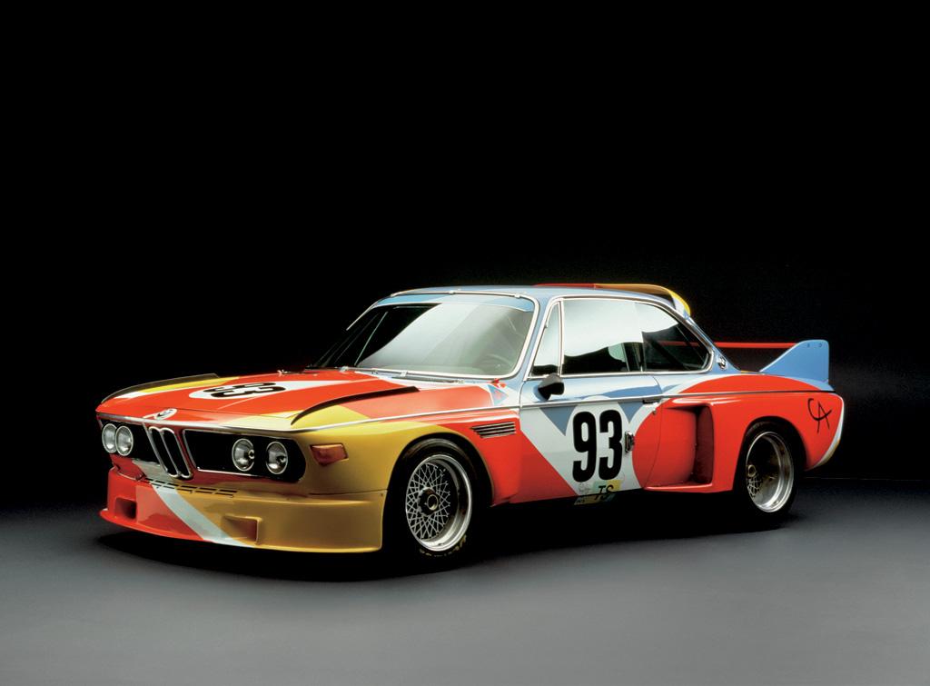 BMW Art Car designed by Alexander Calder