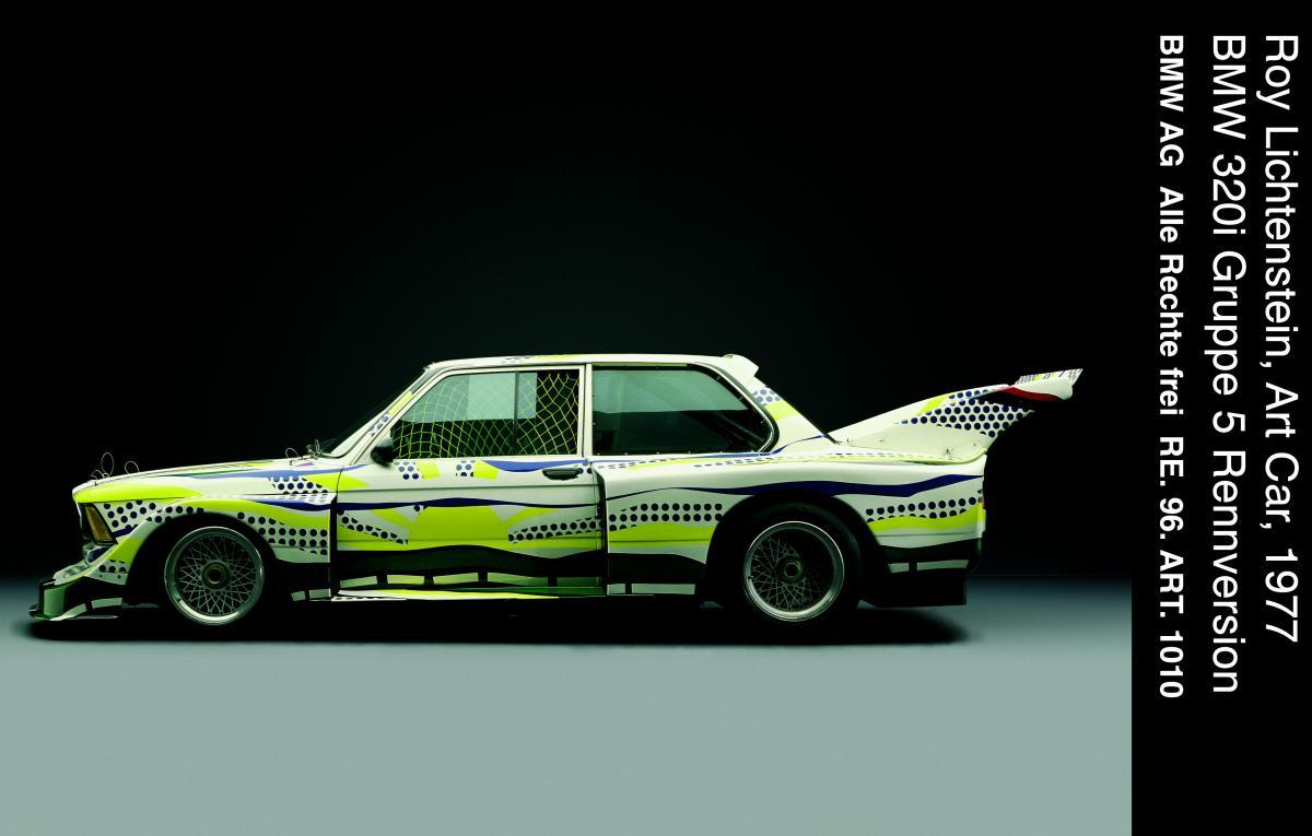 """""""lichtenstein art car"""""""