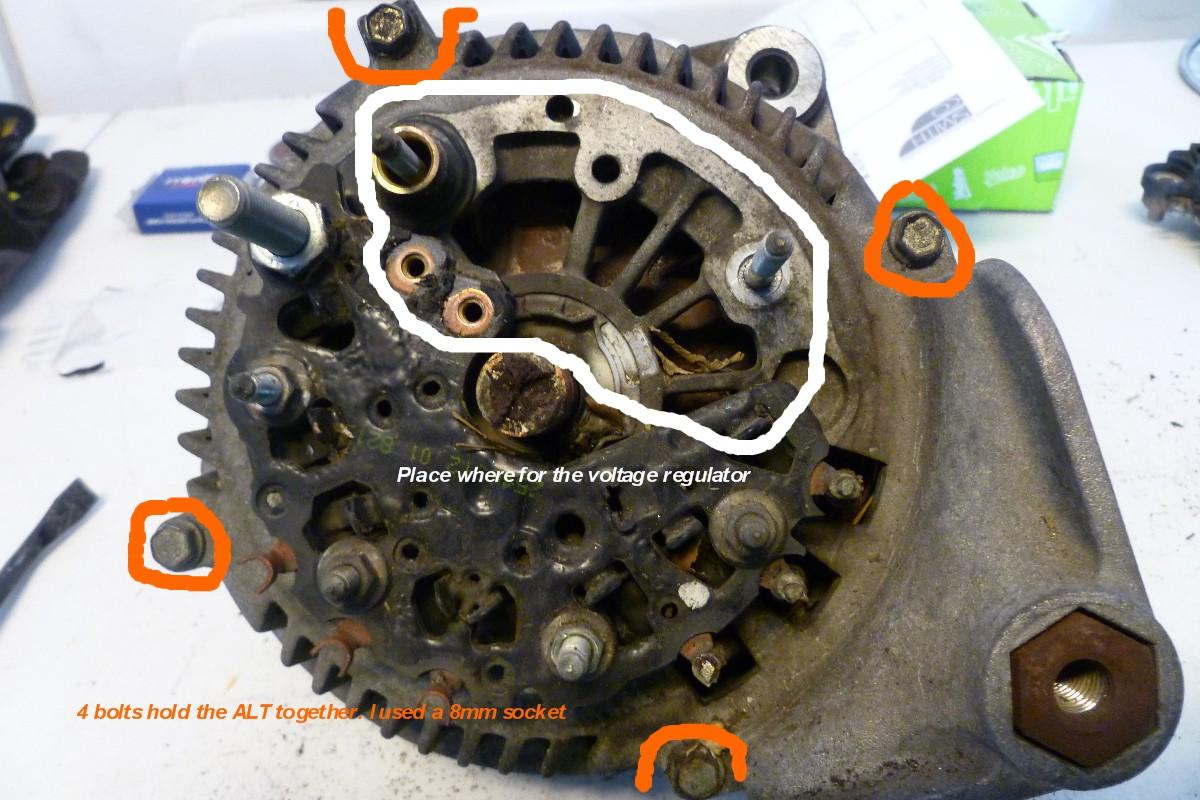 bmw e46 m3 alternator replacement