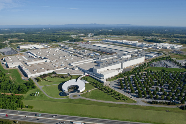 Spartanburg BMW Factory
