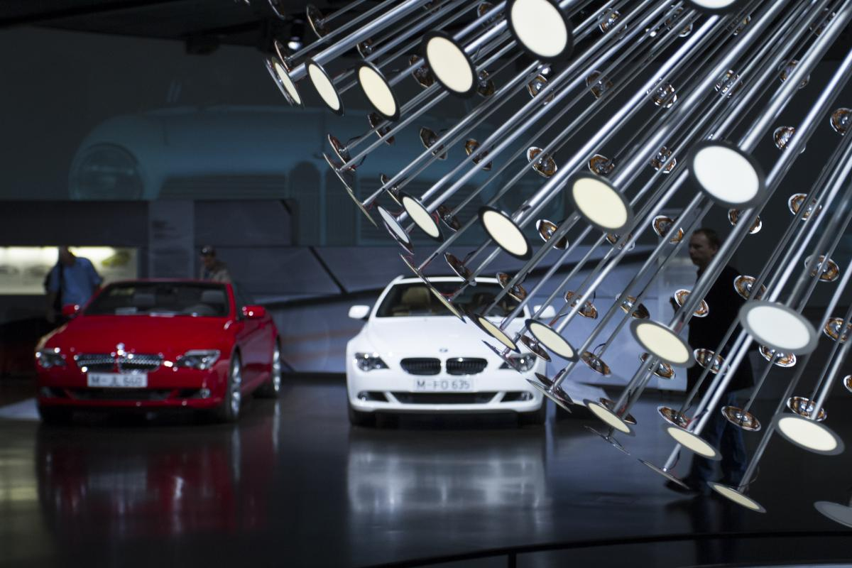 �Hands on at the BMW museum�