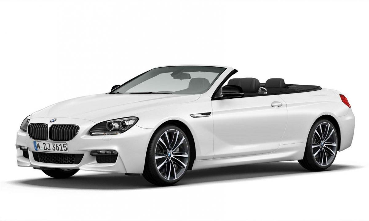 2014 BMW 6 Series Frozen Brilliant White Convertible