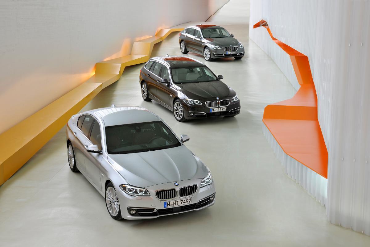 F10 BMW 5 series LCI