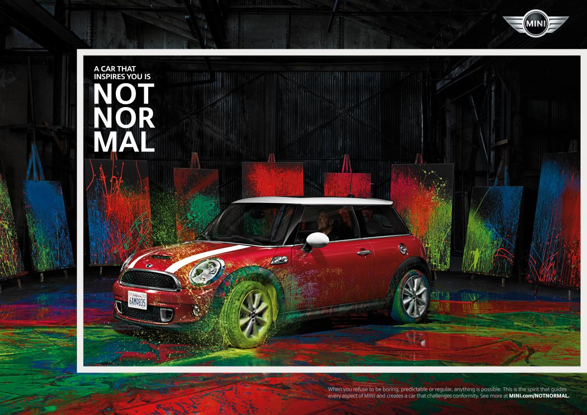 �NOT NORMAL - MINI brand campaign�