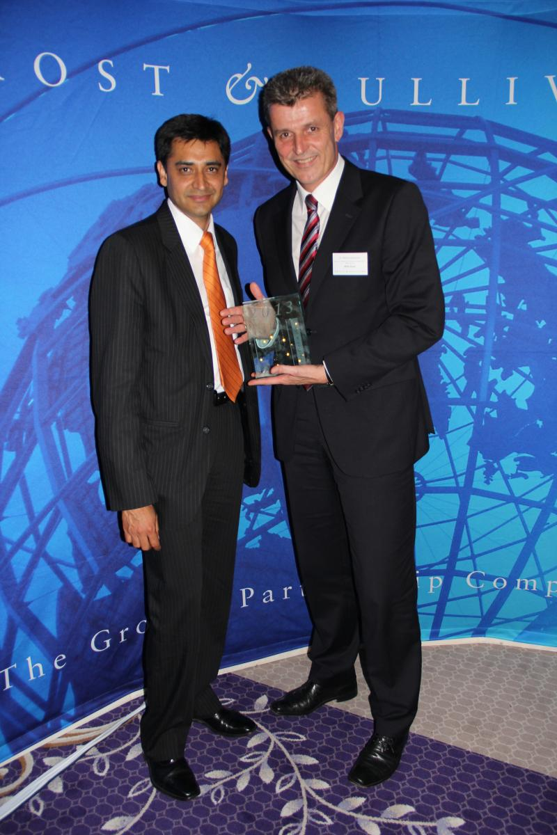 Frost & Sullivan Global Company of the Year Award honours BMW AG's Exceptional Achievements in New Mobility Products and Services.