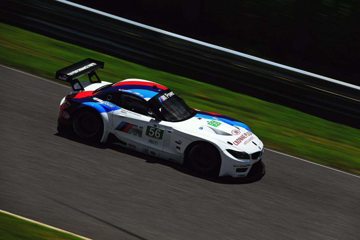 Lime Rock ALMS Qualifying BMW Team RLL