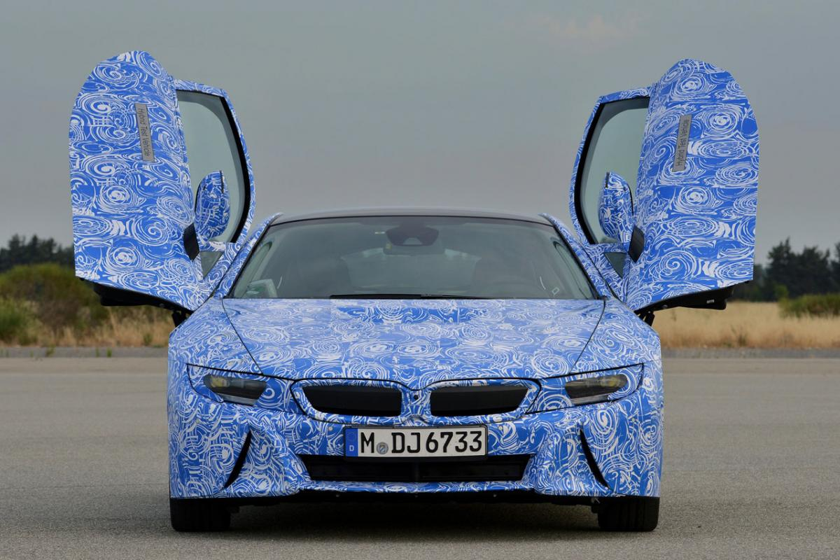 BMW i8 is a New Take on the Ultimate Driving Machine