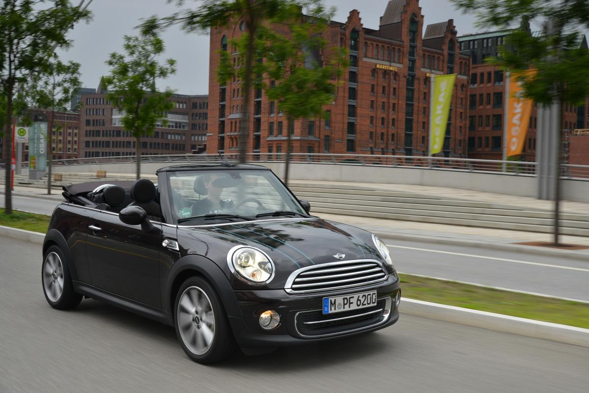 The Mini Convertible Ten Years As The Epitome Of Stylish Open Top