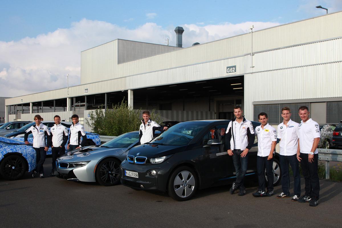 BMW DTM drivesr drive i8