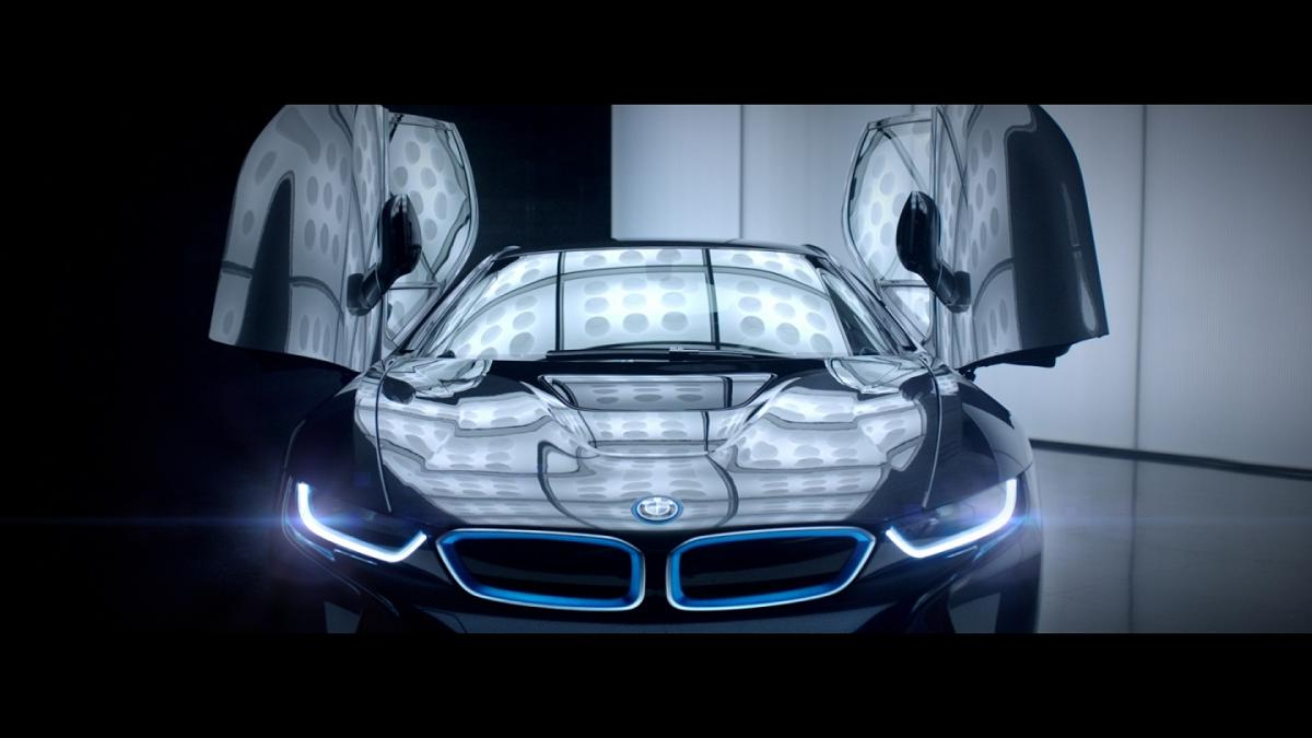 BMW i8 Campaign Kicks Off During Winter Olympics