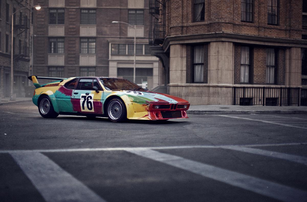BMW Art Car History
