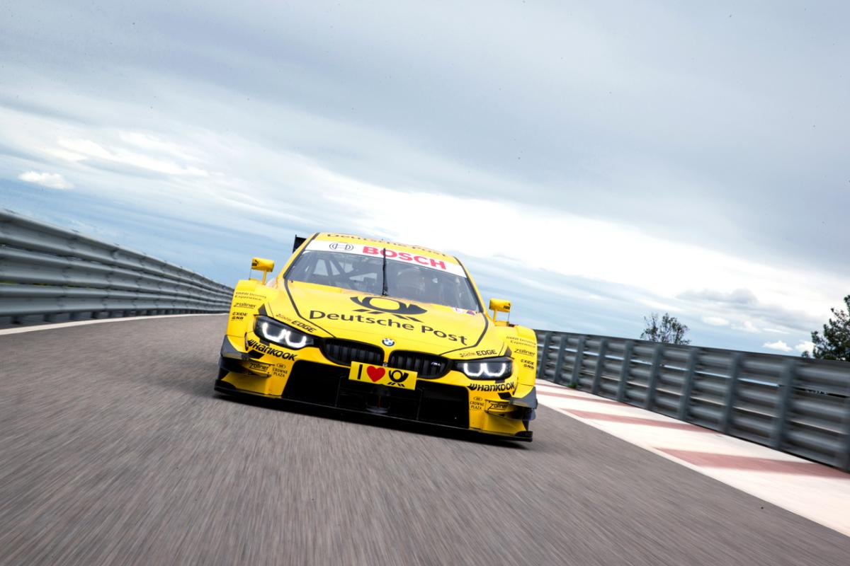 BMW M4 DTM Car Revealed