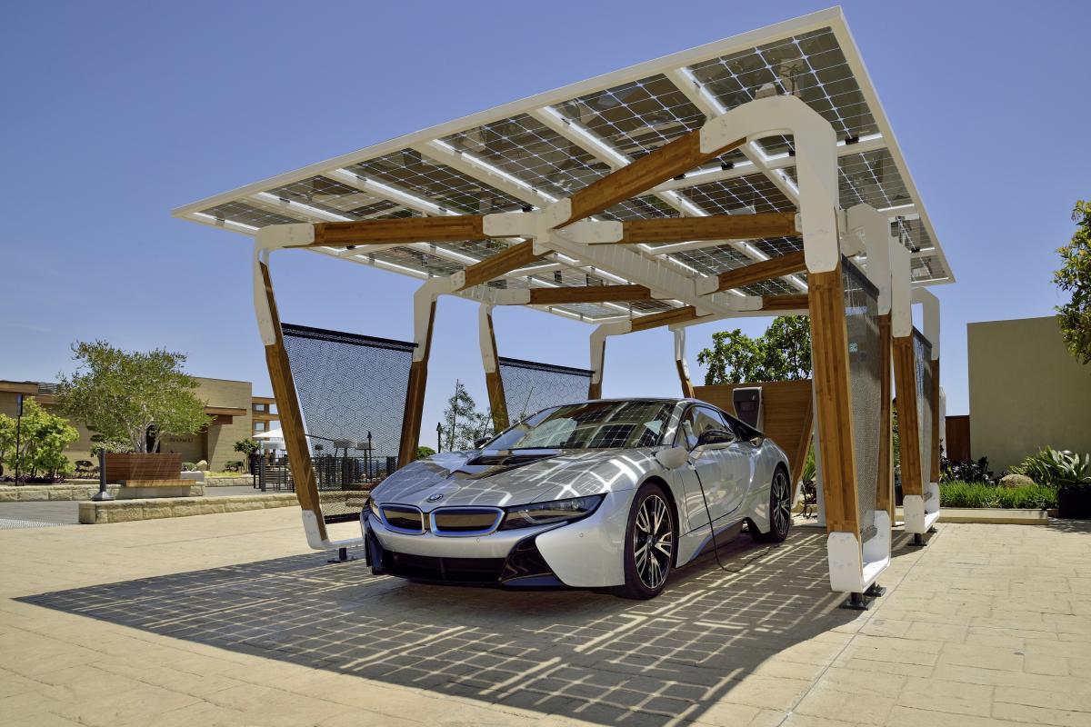 �solar carport�