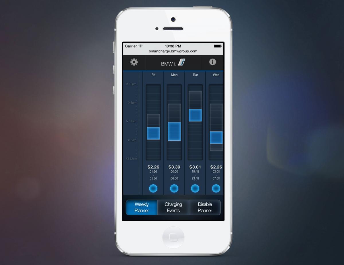 �smart charging app�