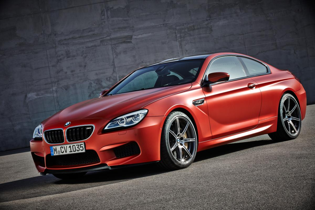 2016 BMW M6 coupe, convertible, gran coupe ordering and pricing