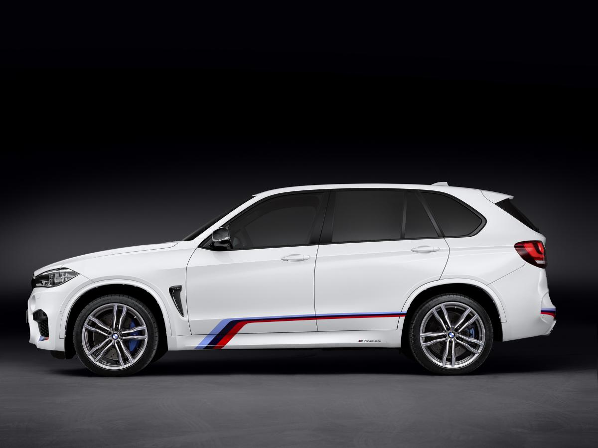 The BMW X6 M Meanwhile Can Also Be Ordered With Rear Fins In High Gloss Black Which Not Only Lend It A Particularly Dynamic And Elegant Appearance