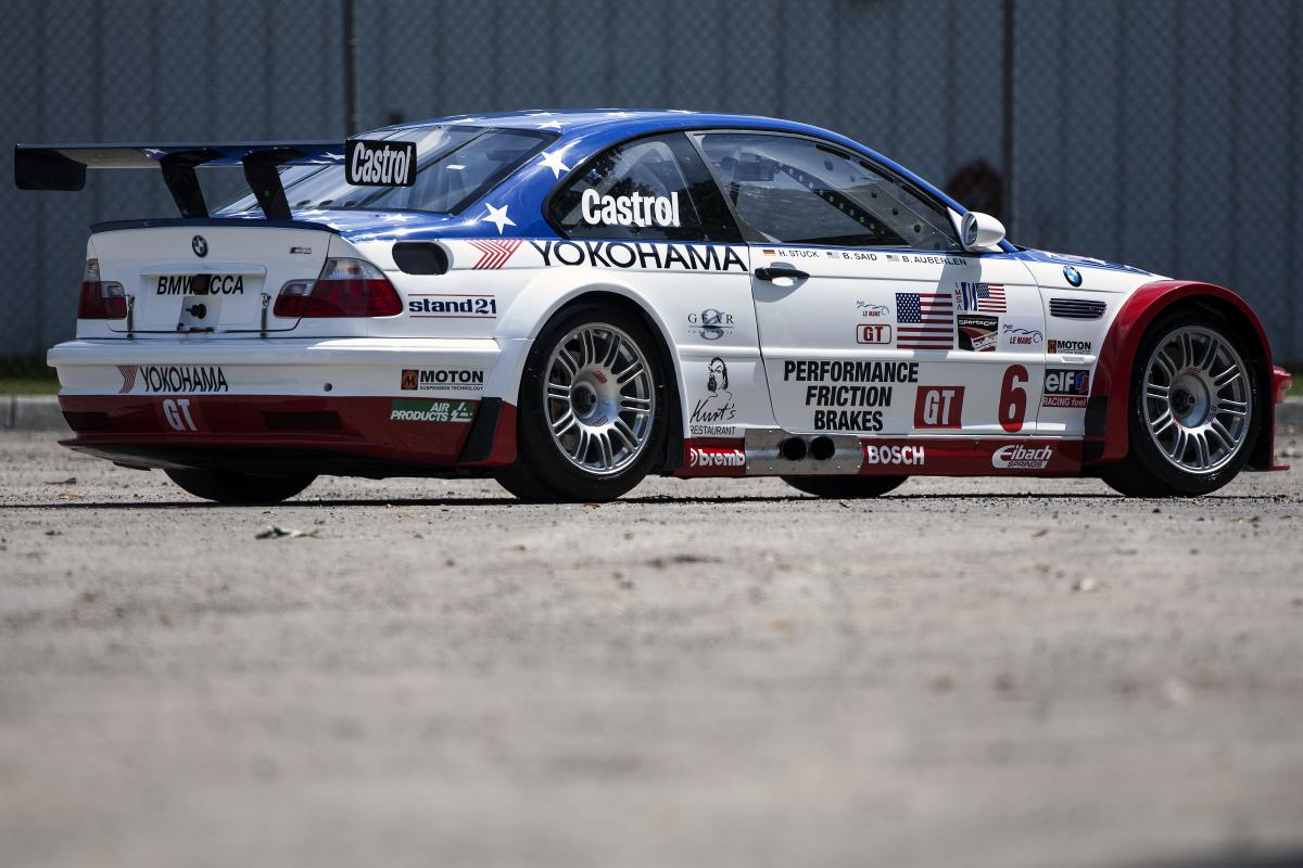 2001 Bmw M3 Gtr Race And Road Cars To Be Presented At