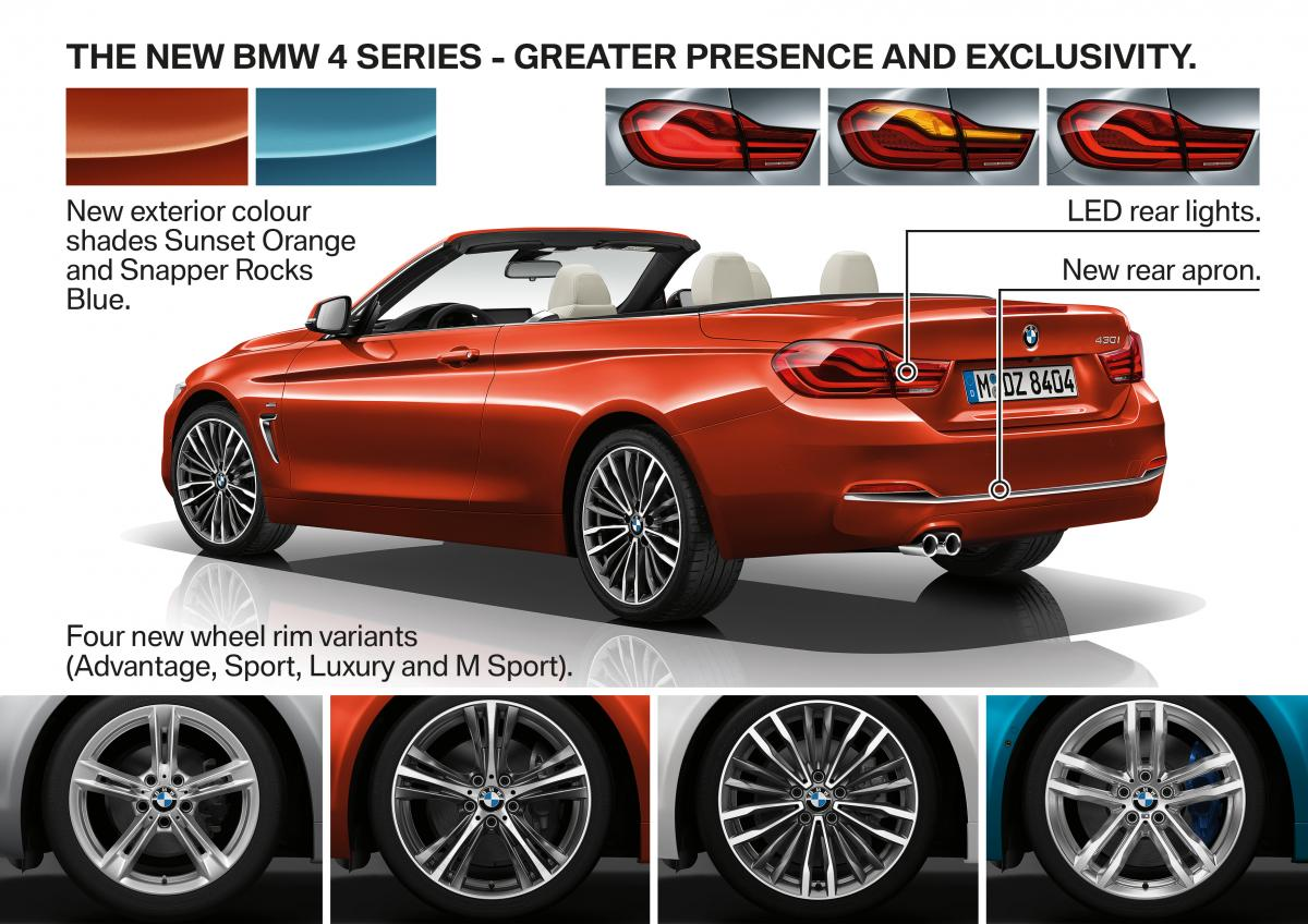 The 4 Series LCI  Greater Presence Enhanced Dynamics