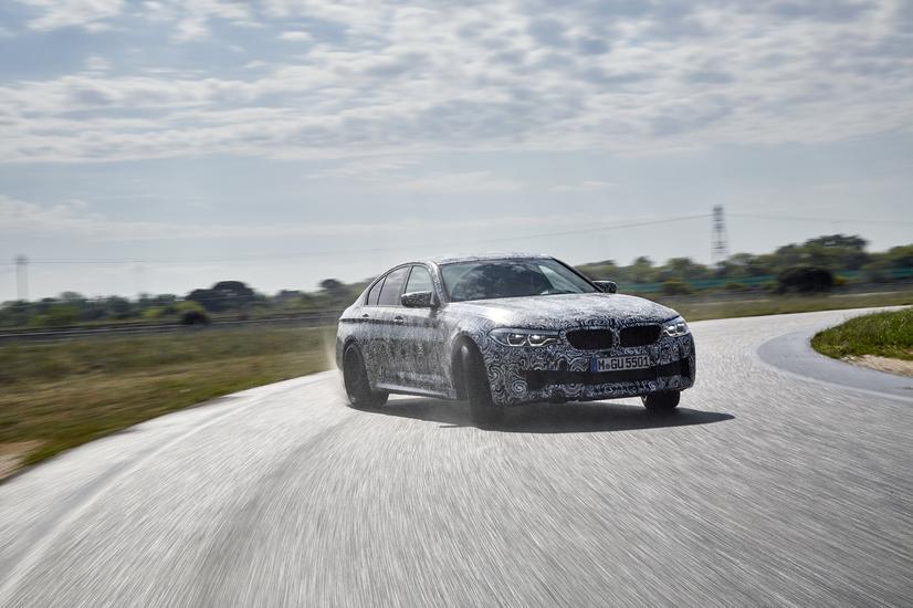BMW M5 with M xDrive