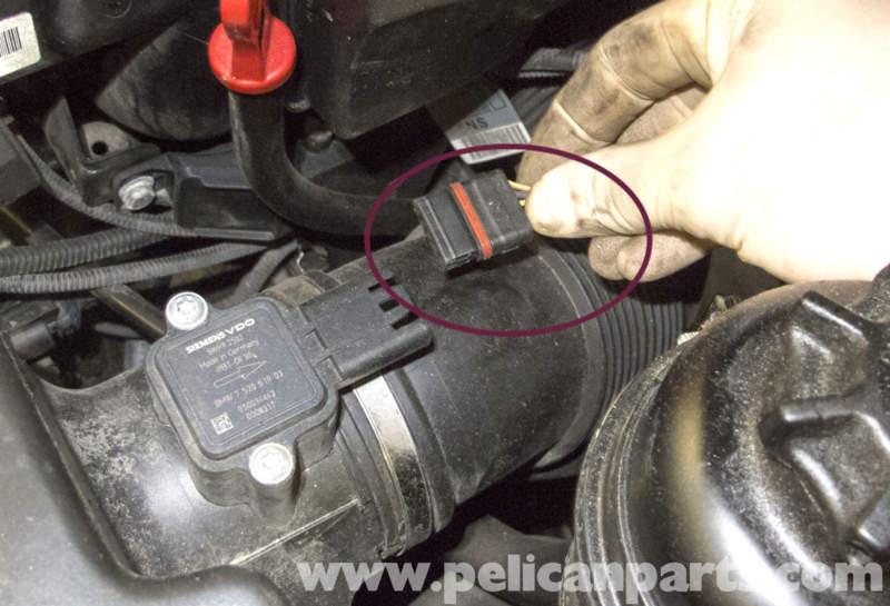 MAF's electrical connector damaged - Bimmerfest - BMW Forums