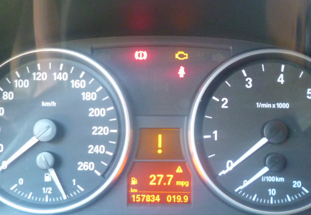 Bmw 1 Series Warning Lights Exclamation Mark