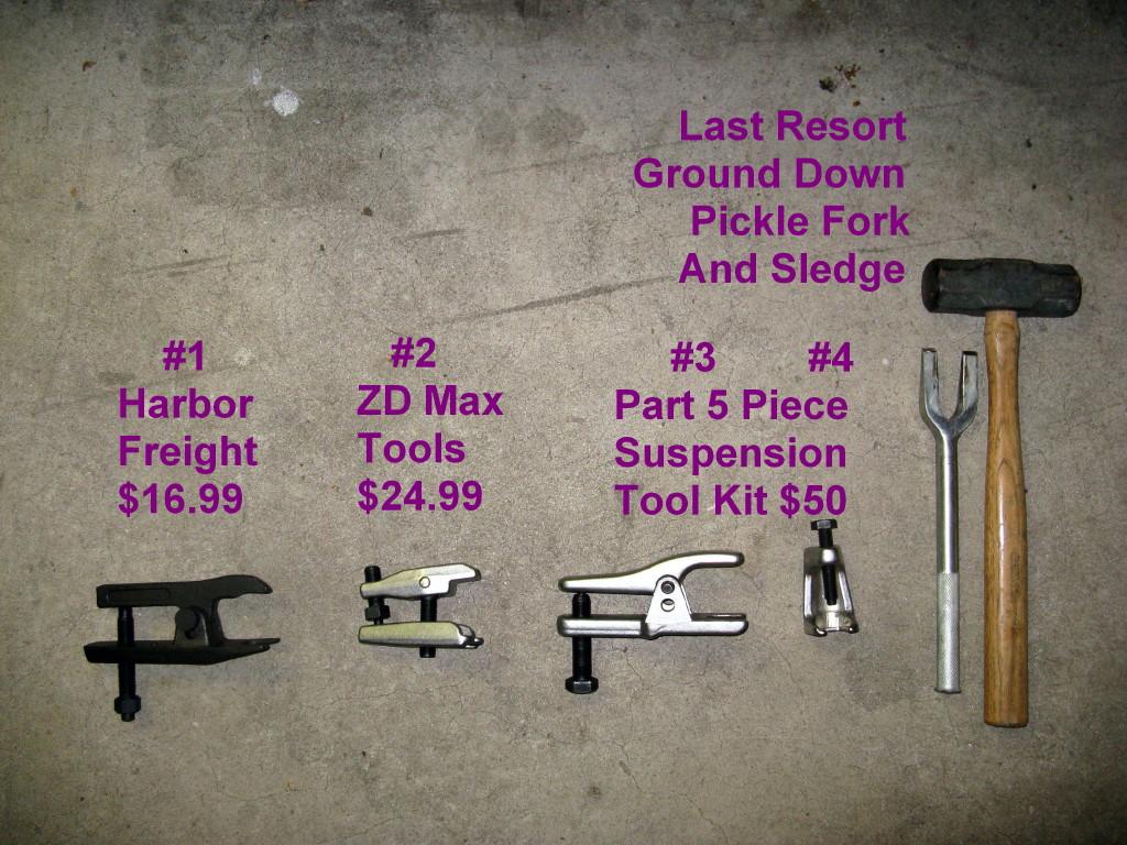 540 Full Front Suspension Rebuild – Learning – Tips