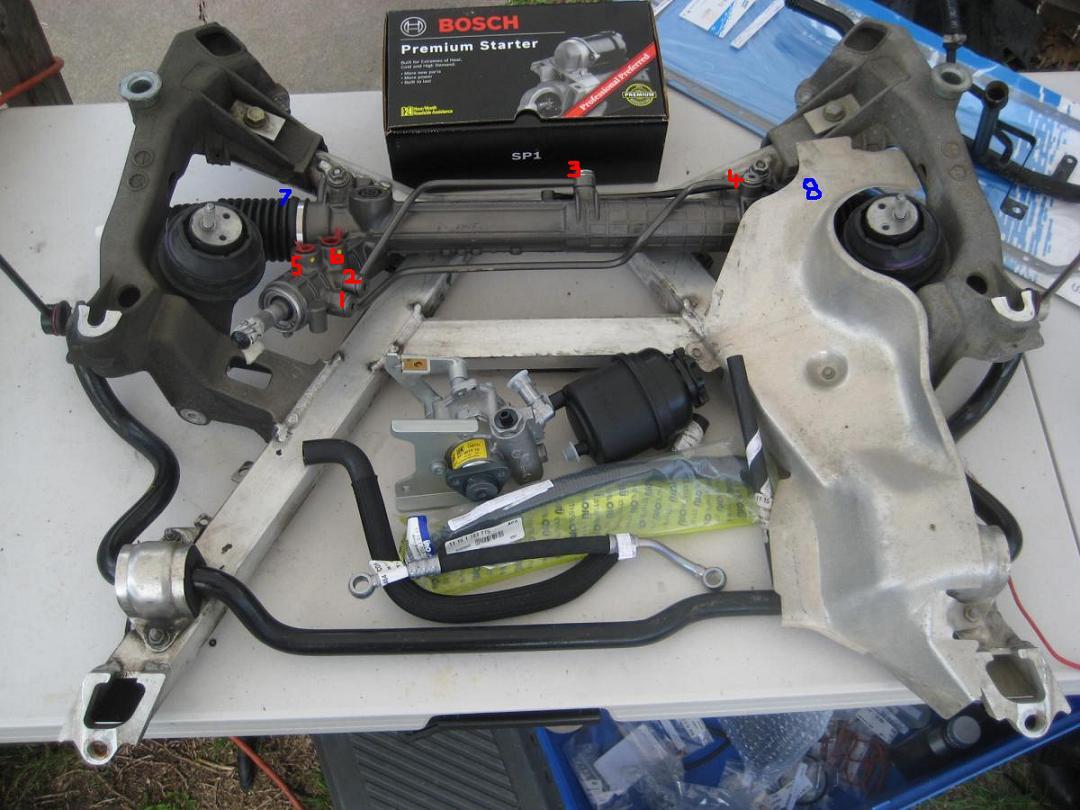 Power Steering Rack Leaking Replacement Bimmerfest