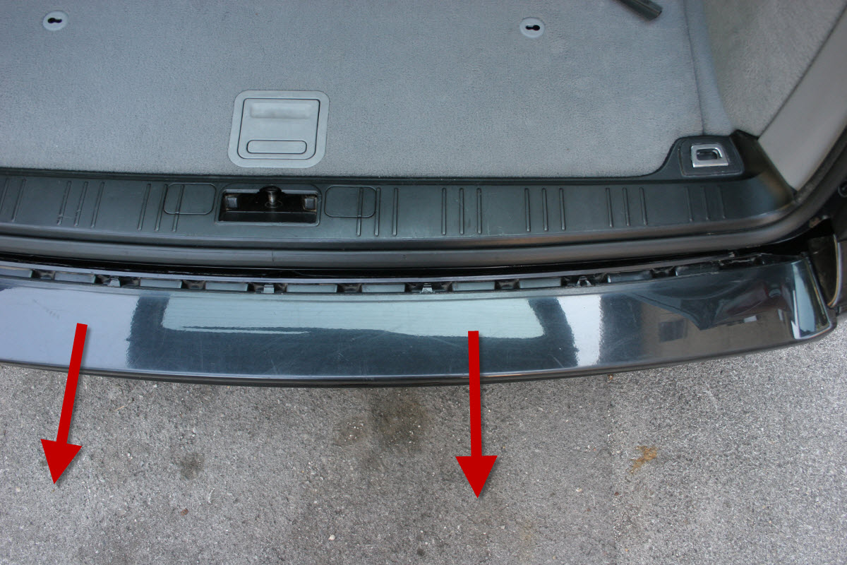 e46 rear bumper removal coupe