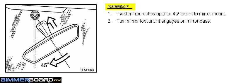 dismount instructions: