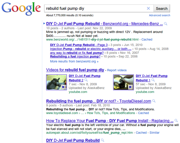 Fuel Pump - Remove, Repair, Reinstall - Bimmerfest - BMW Forums