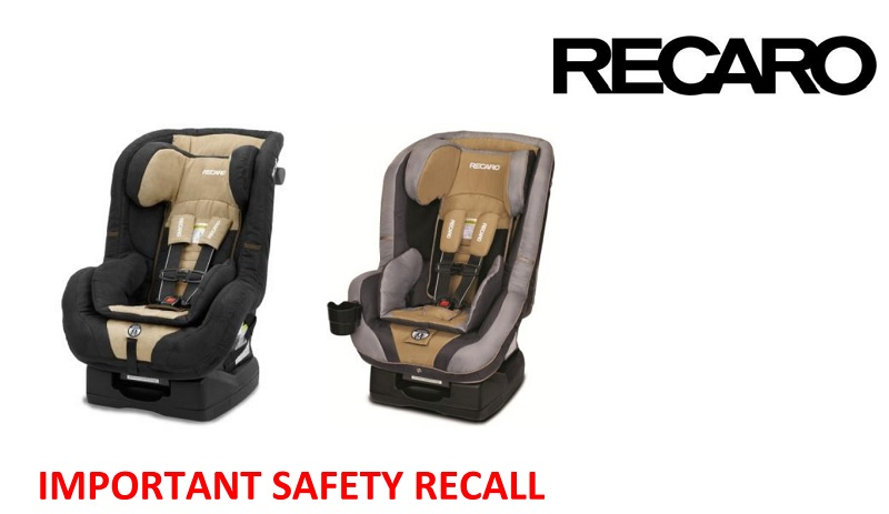 Recaro Recall ProRIDE And Performance RIDE Convertible Car Seats