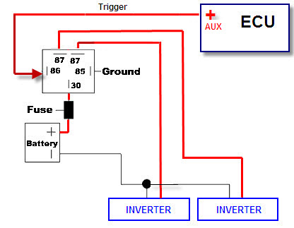 How do i wire angel eyes without a relay bimmerfest bmw forums click image for larger version name relay diagramg views 2181 size ccuart Image collections