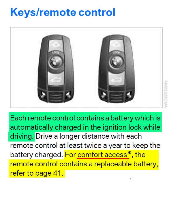 Key fob battery - Bimmerfest - BMW Forums