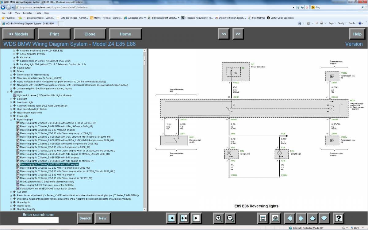 Wire diagrams for E86 Z4 ??? - Bimmerfest - BMW Forums
