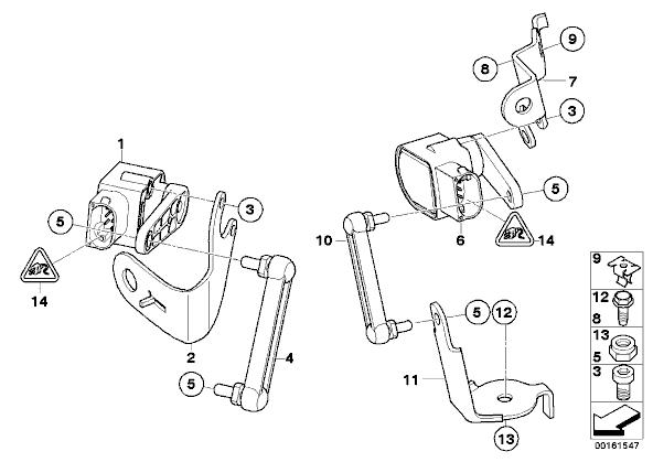 2006 bmw x5 rear suspension diagram