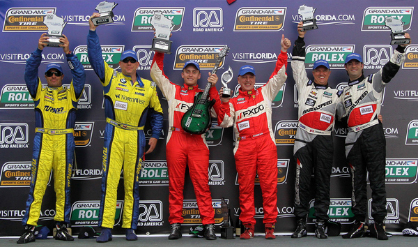 Turner Motorsport Finishes Second in GT at Road America - Back to Back Podium Wins!