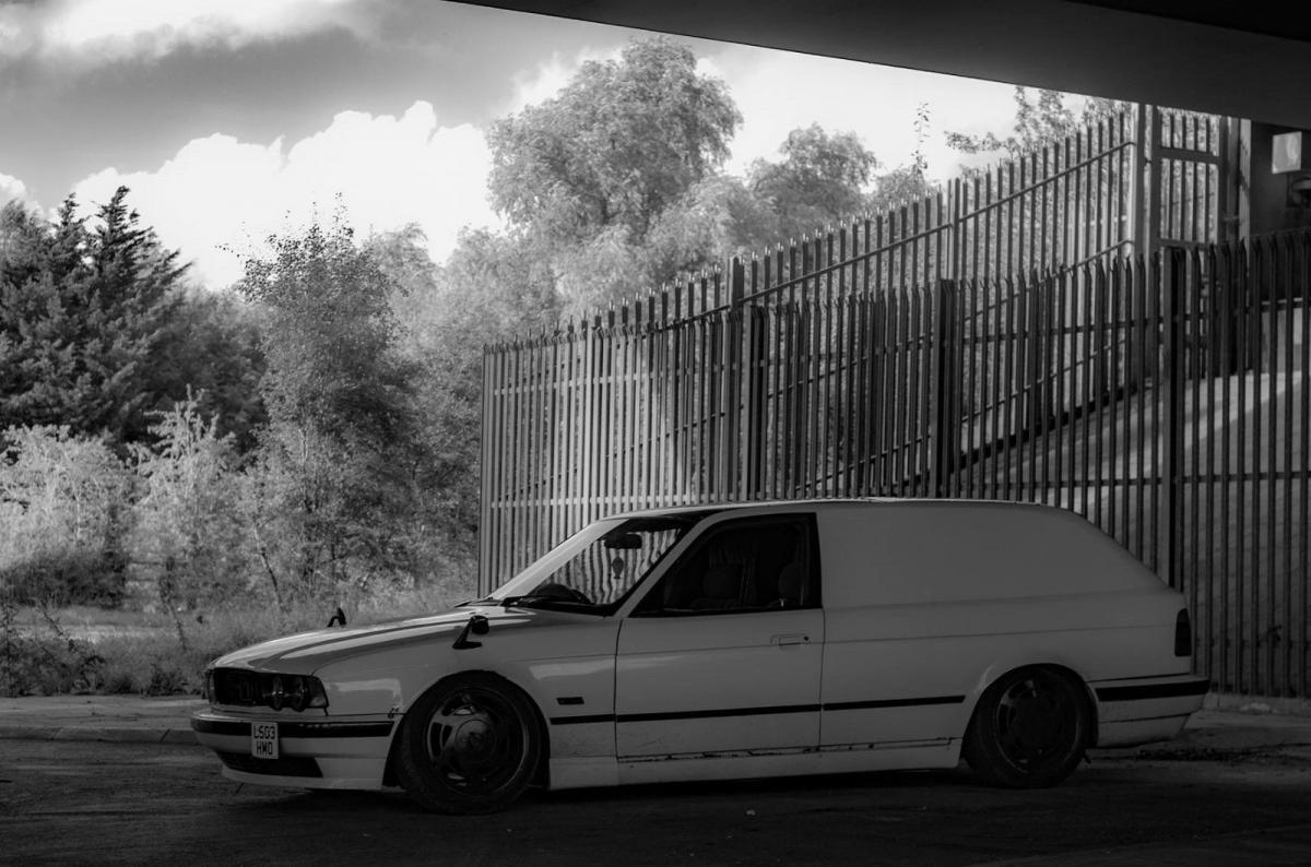 rare bmw van