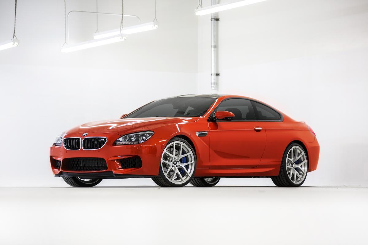 BMW M6 Sakhir Orange