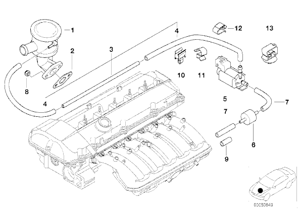 Might we be able to list, with pics (realoem diagrams ok