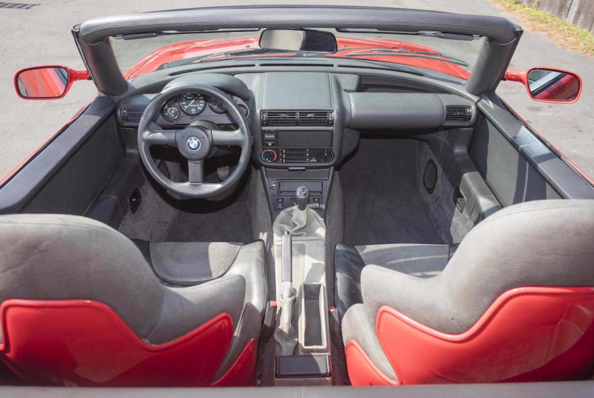 1990 bmw z1 to be auctioned off at monterey car week bmw news at. Black Bedroom Furniture Sets. Home Design Ideas