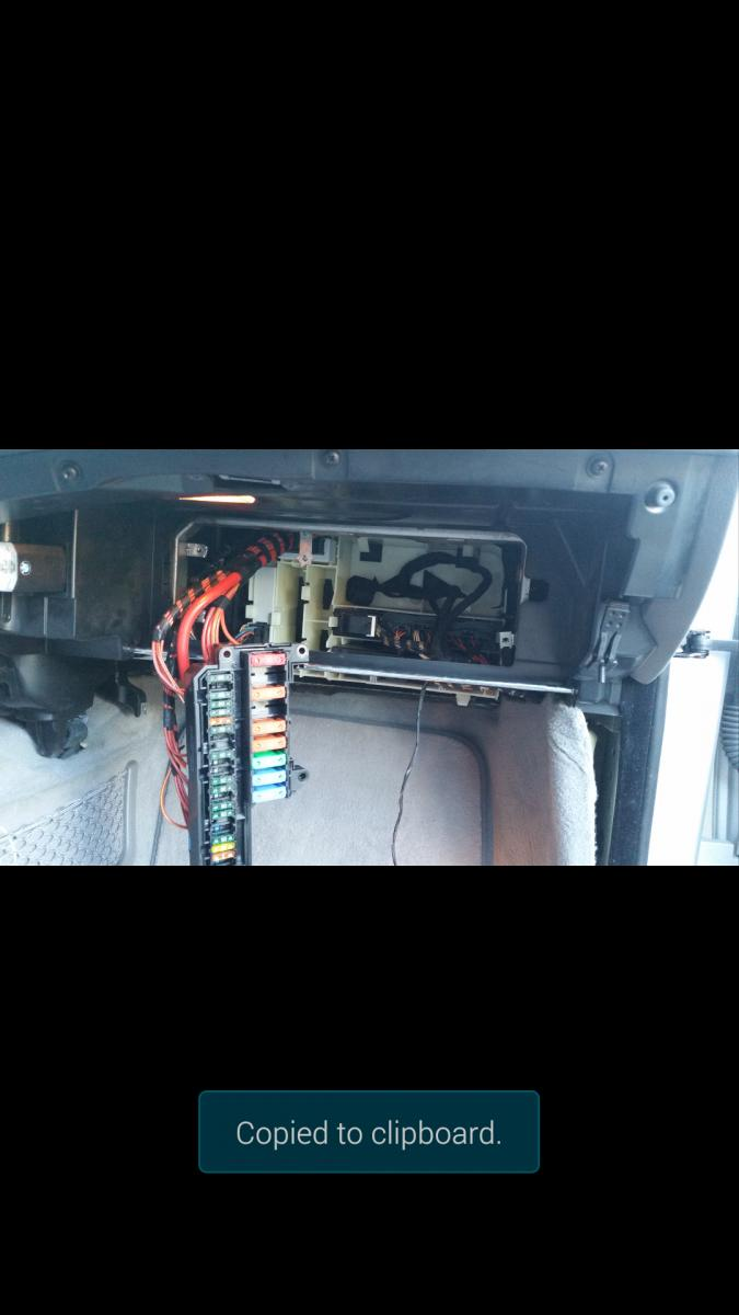 Need to find fuel pump relay  - Bimmerfest - BMW Forums