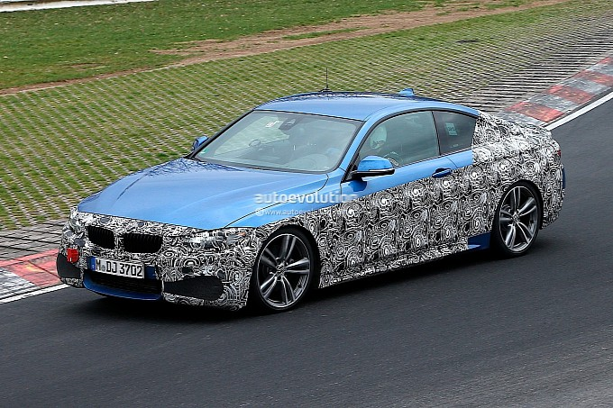 F32 BMW 435i M Sport at the Nurburgring