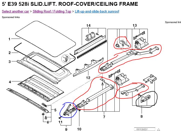 E39 Sunroof Wiring Diagram