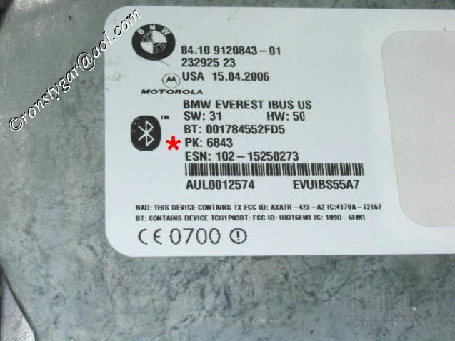 Z4: Bluetooth PIN Code?? - Bimmerfest - BMW Forums